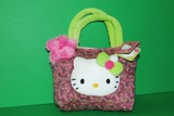 Borsetta Hello Kitty stoffa viola f